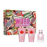 Dsquared2 Wood For Femme Eau De Toilette Spray 50ml Set 3 Pieces 2020