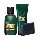 Dsquared2 Green Wood Pour Homme Eau De Toilette Spray 100ml Set 3 Piezas 2020