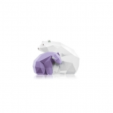 Pupa Be My Bear Medium White And Lilac