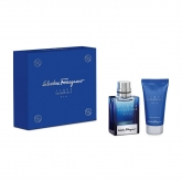 Salvatore Ferragamo Acqua Essenziale Blu Eau de Toilette Spray 50ml Set 2 Pieces 2018