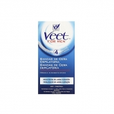 Veet Men Wax Strip Body 10 Units