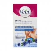 Veet Axil Hair Removal Strips Sensitive Skin 16 Units
