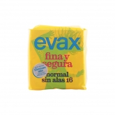 Evax Fina y Segura Normal Compresas 16 Uds.