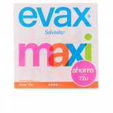 Evax Salva Slip Maxi Pantyliners 72 Units