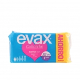 Evax Cottonlike Normal With Wings Sanitary Towels 20 Units