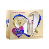 Agatha Ruiz De La Prada Love Glam Love Eau De Toilette Spray 50ml Set 2 Piezas