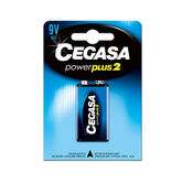 Cegasa Saline Battery Power Plus 9v 6F22