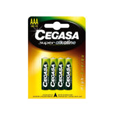 Cegasa Super Alkaline Battery AAA 1,5v LR03 4 Units