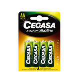 Cegasa Super Alkaline AA Battery 1,5v LR6 4 Units