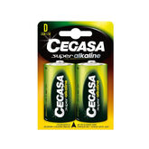 Cegasa Super Alkaline Battery 1,5v LR20 2 Units