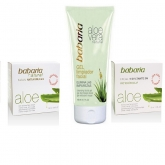 Babaria Face Cream Aloe Anti Wrinkle 50ml Set 3 Pieces