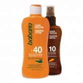 Babaria Oil Protective SPF10 Carrot