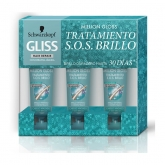 Schwarzkopf Gliss Million Gloss Tratamiento De Brillo 3X20ml