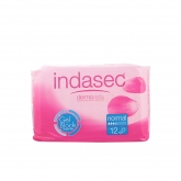 Indasec Compresses Incontinence Normal 12 Units