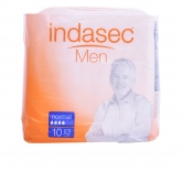 Indasec Male Absorbent Normal 10 Units