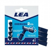 Lea Emerging 2 Blades Disposable Blades Pack 4 Units