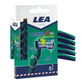 Lea Premium 2 Tilting Blades Disposable Blades Pack 5 Units