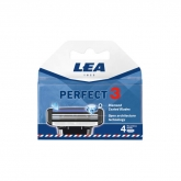 Lea Perfect 3 Blade Refill Pack 4 Units