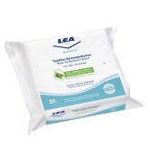 Lea Women Make Up Remover Wipes Aloe vera 25 Units