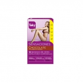 Taky Body Wax Strips With Orange Fragrance Box 12 Units