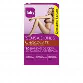 Taky Body Wax Strips With Orange Fragrance Box 20 Units