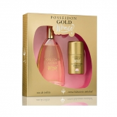 Instituto Español Posseidon Gold Woman Eau De Toilette Spray 150ml Set 2 Pieces 2019