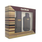 Puig Quorum Eau De Toilette Spray 100ml + After Shave 100ml