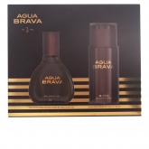 Puig Agua Brava Eau De Cologne Spray 100ml Set 2 Pieces