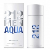 Carolina Herrera 212 Men Aqua Eau De Toilette Spray 100ml Limited Edition 2017