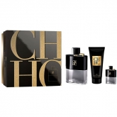 Carolina Herrera Ch Men Privé Eau De Toilette Spray 100ml Set 3 Pieces 2017