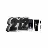 Carolina Herrera 212 Vip Black Eau De Toilette Spray 100ml Set 2 Piezas 2019