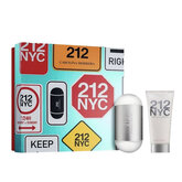 Carolina Herrera 212 NYC For Her Eau De Toilette Spray 100ml Set 2 Pieces 2020