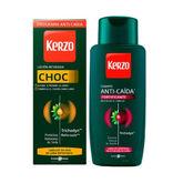 Kerzo Loción Choc Anticaída 150ml Set 2 Piezas 2020