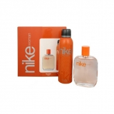 Nike Woman Eau De Toilette Spray 100ml Set 2 Piezas