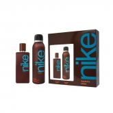 Nike Brown Eau De Toilette Spray 100ml Set 2 Piezas