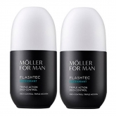 Anne Moller For Man Deodorant Roll-on 75ml Set 2 Pieces