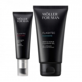Anne Moller For Man Flashtec Detox Gel Cream 50ml Set 2 Pieces