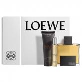 Solo Loewe Eau De Toilette Spray 100ml Set 3 Pieces 2017