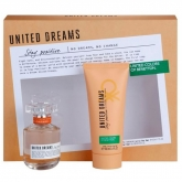 Benetton United Dreams Stay Positive Woman Eau De Toilette Spray 50ml Set 2 Piezas 2019