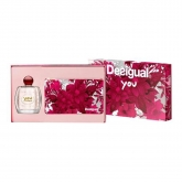 Desigual You Eau De Toilette Spray 100ml Set 2 Pieces 2017