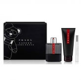 Prada Luna Rossa Carbon Eau De Toilette Spray 100ml Set 3 Pieces 2018