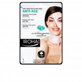 Iroha Nature Anti Age Cotton Face And Neck Mask Collagen 1 Unit