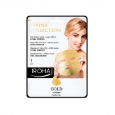 Iroha Nature Gold Foli Tissue Mask Sauna Effect Hydra Firming 1 Use