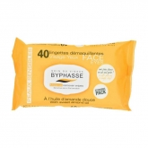 Byphasse Make Up Remover Wipes Sensitive Skin 40 Units