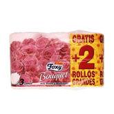 Foxy Bouquet Color Papel Higiénico 3 Capas 4+2 Rollos