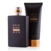 Gold Black Eau De Toilette Spray 100ml Set 2 Pieces