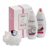 Dove Radiant Beauty Purely Pampering Body Wash 250ml Set 3 Pieces 2019