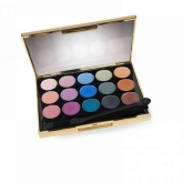 Gold Palette With Built-In Mirror 15 Shades