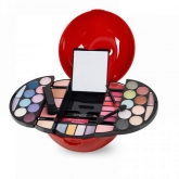 Sliding Red Apple Makeup Case
