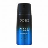 Axe You Refresh Desodorante Spray 150ml